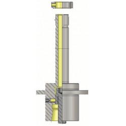 HSK-F 50 Precision Grinding Wheel Arbor