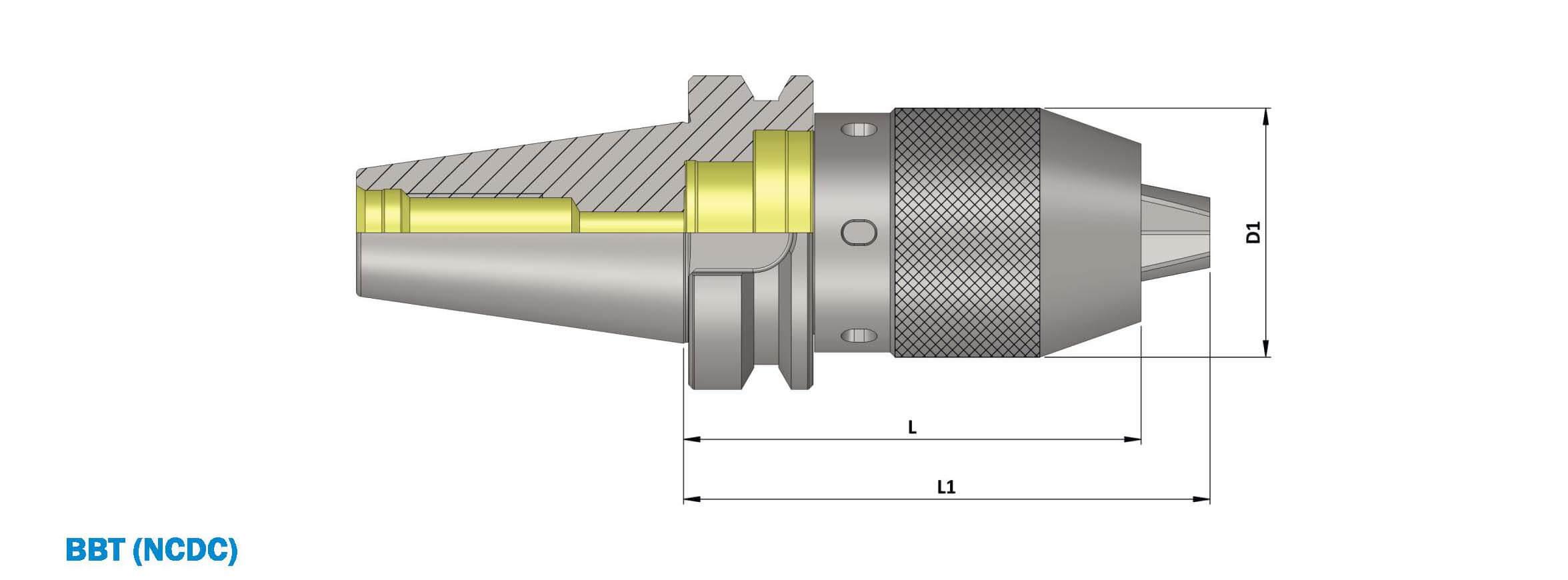BBT40 Integral Drill Chuck