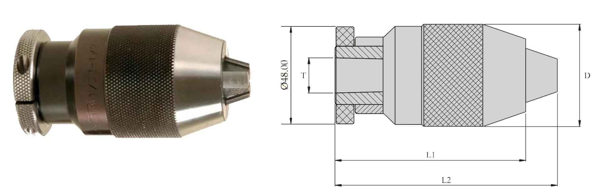 DDC065 B 12 Drill Chuck