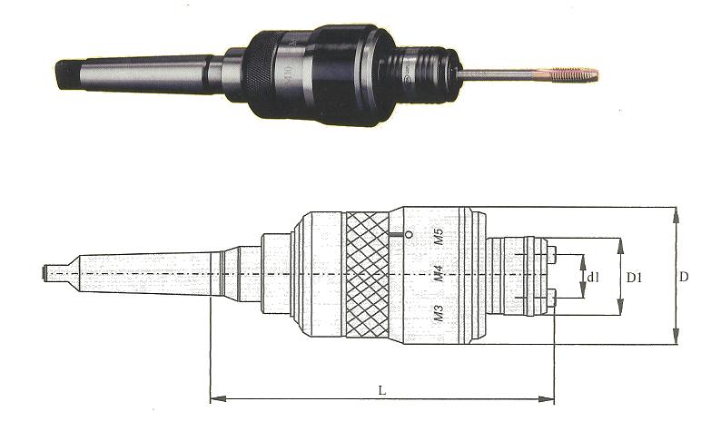 MT4B QSFL 8-22 QSFL/MORSE TAPER