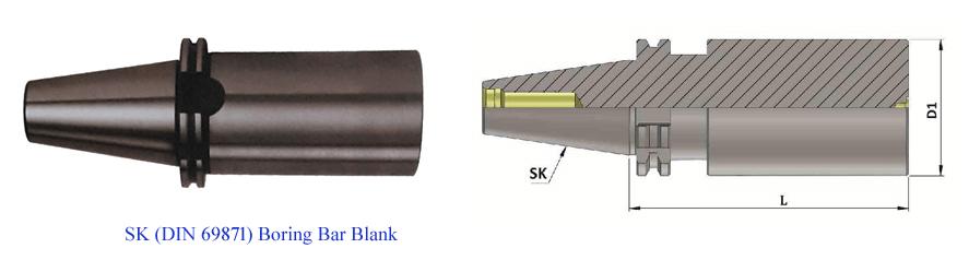 SK50 BORING BAR BLANK DIA 80.0 L 200