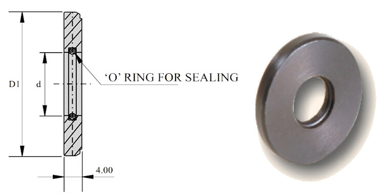 SET OF SEALING DISC ER 25 3.5-16MM